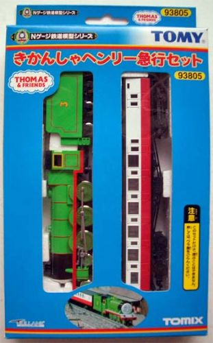 Tomix 93805 Thomas the Tank Engine & Friends - Henry plus 1 Brake Coach 2 Piece Set